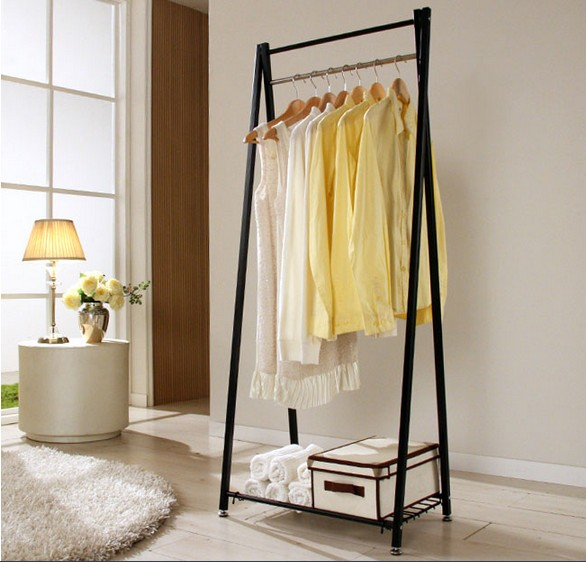 Online Shop Free Shipping Floor Coat Rack Hanger Simple Fashion Residential  Furniture Bedroom Glove Hanging Clothes