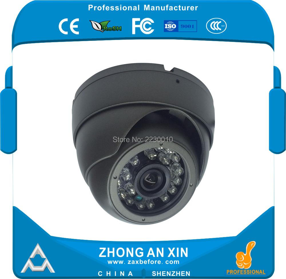 720P HD Infrared night vision Audio Pickup Metal Dome vehicle camera Factory Outlet OEM ODM 300000 pixels cmos audio pickup 24ir night vision support 32gb tf card storage vehicle camera day night serial jpeg camera