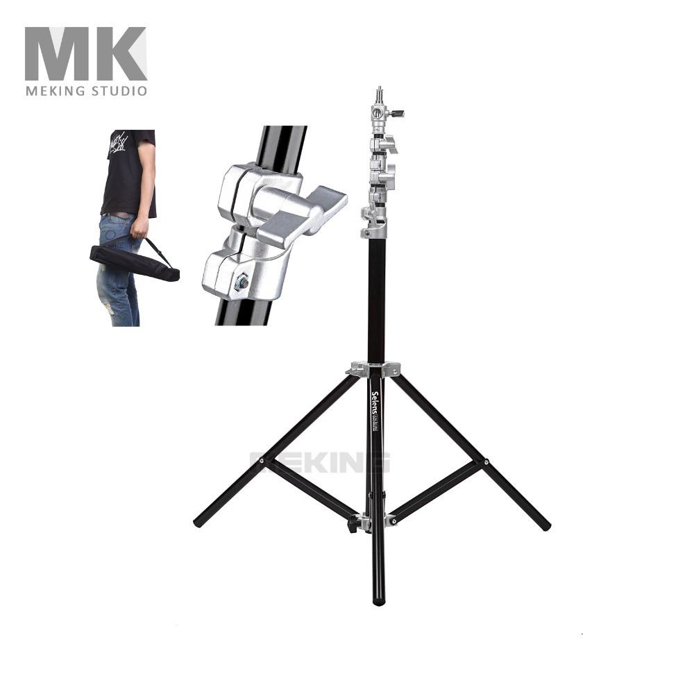 Prix pour Selens photo studio air-coussin heavy duty lumière stand 4 m 13.2ft sgt-4000a avec sac de transport pour fond charge 7 kg