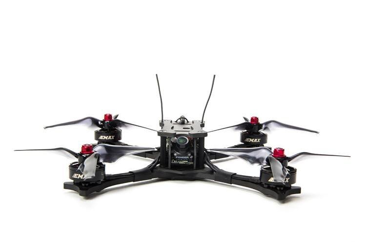 Emax Faucon 5 5 pouce 210mm FPV Racing Drone Cadre En Fiber De Carbone BNF FRSKY XM +/PNP DIY RC Quadcopter Brushless Drone 600TVL Caméra