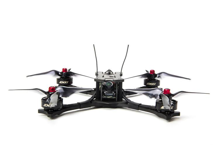 Emax Hawk 5 5 pollice 210mm FPV Da Corsa Drone Telaio In Fibra di Carbonio BNF FRSKY XM +/PNP FAI DA TE RC Quadcopter Brushless Drone 600TVL Macchina Fotografica