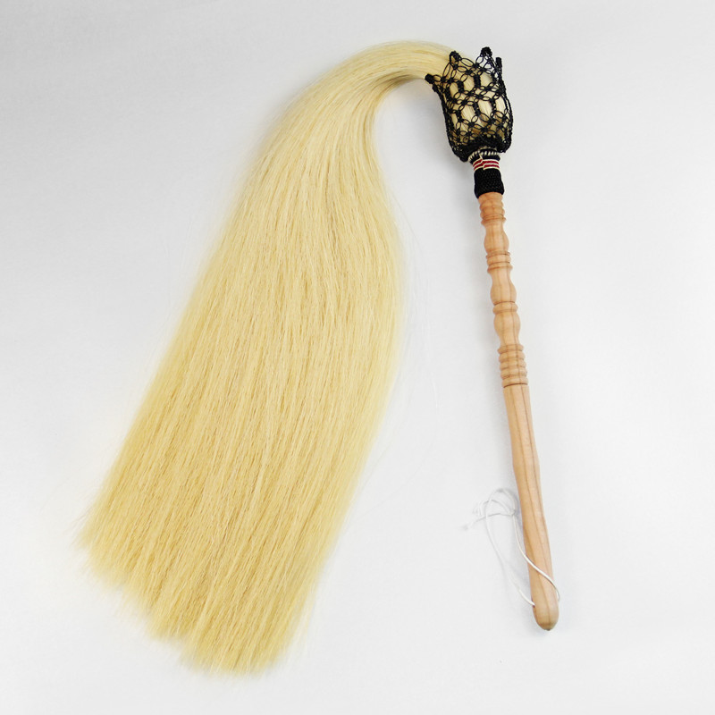 Real Horsetail Whisk Daoist Martial Arts Fu Chen 4
