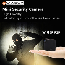 CAMSOY C1 wearable camera HD720P mini camcorder mini WIFI camera IP Camera for motorcycle Magnetic Clip bike camera