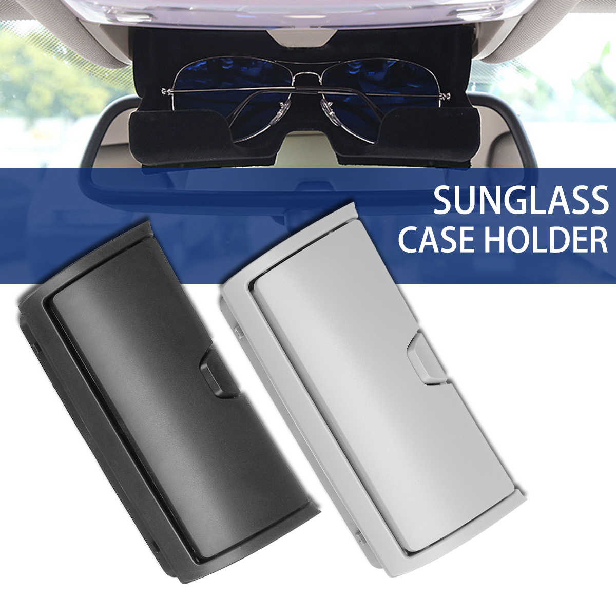 ae46df7b7e33 Detail Feedback Questions about 1Pc Car Sunglasses Case Holder Eye Glasses  Cage Clip Organizer Plastic Storage Box For BMW X5 X6 F15 F16 2014 2017 ...
