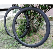 DECA AIR50 Carbon Road Bicycle Wheelset Clincher Tubeless Ready Rim JAVA BICYCLE AS511SB/FS522SB Hub Sam CX Ray Spokes Only 1470 elite aff dt 350s carbon road bike wheel 25mm or 27mm width tubular clincher tubeless 700c carbon fiber bicycle wheelset