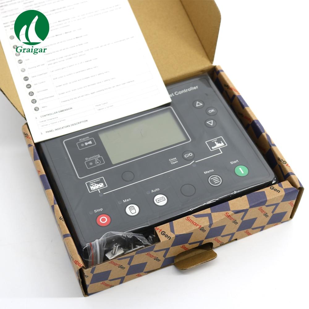 Smartgen Automatic Start Module Generator Controller HGM6110U AUTO Genset Controller new smartgen automatic transfer switch controller hat260 ats genset controller