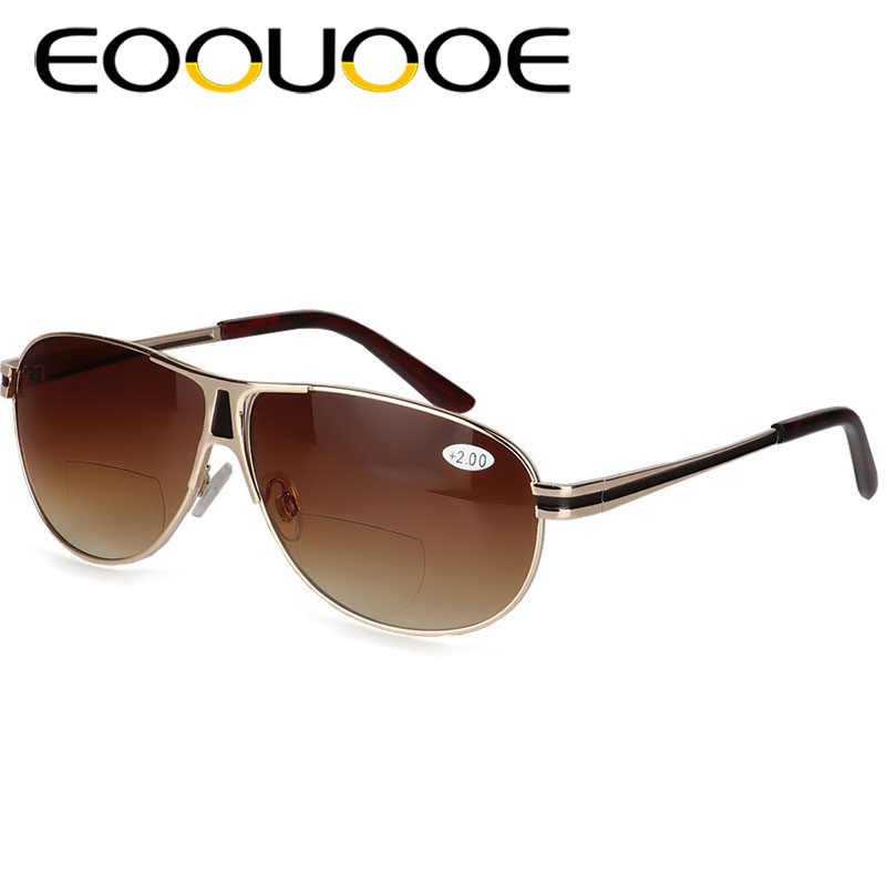 8cc1203027 EOOUOOE New Men Bifocal Reading Glasses and Sunglasses Unisex Diopter  Glasses Male Presbyopic Eyeglasses Reader Sun