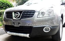 Front Bumper Protector Guard For Nissan Qashqai 2007 2008 2009 Car Styling High Quality Plastic