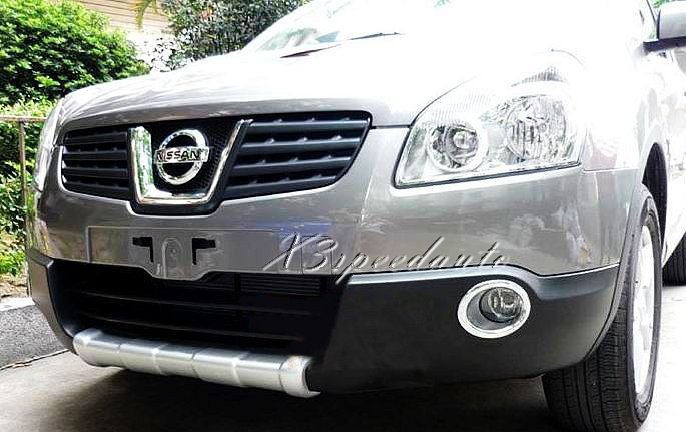 Car Styling High Quality Plastic Front Bumper Protector Guard For Nissan Qashqai 2007 2008 2009