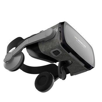 2019 Google Cardboard VR shinecon 9.0 Pro Version VR Virtual Reality 3D Glasses +Smart Bluetooth Wireless Remote Control Gamepad 1