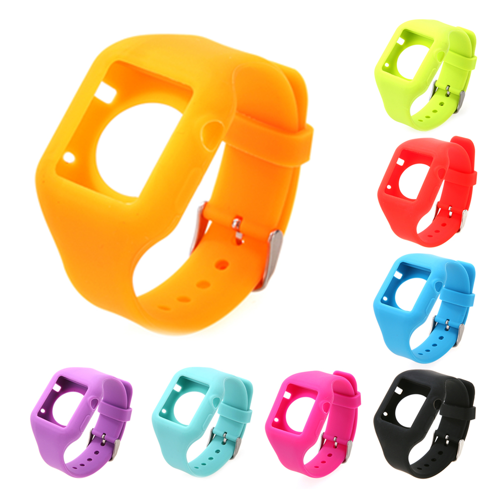 8 Colors 38MM Silicone Sport Band Fitness Replacement Watch Band Wrist Strap for Iphone Apple I Watch Sport WatchBand