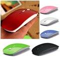 Digital 2.4 G ratón inalámbrico y ratones 6 Color 10 M distancia de trabajo, ratón delgado estupendo para la PC portátil envío gota