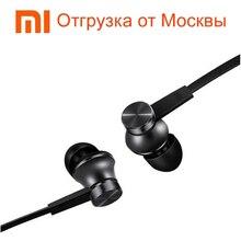 Écouteurs à Piston Xiaomi dorigine Microphone stéréo écouteurs intra auriculaires pour téléphones Ipads MP3 3.5mm colorés pour mi redmi note 4 4s 5