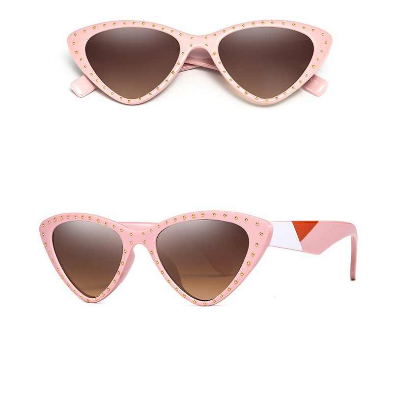 39b8d28ca1 ... Vazrobe Cat Eye Sunglasses Women Vintage Cateye Sun Glasses for Woman  UV400 black Tortoise Female steampunk ...