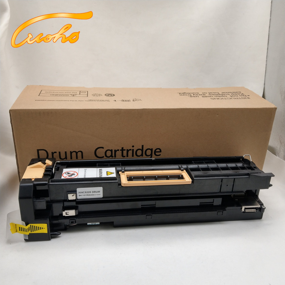 Black 5230 High Yield 80,000 Pages Printer AM-Ink 1-Pack Compatible 101R00435 // 101R435 Drum Unit Replacement for Xerox WorkCentre 5222 5225
