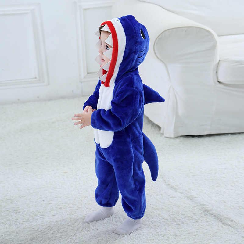 Пикачу для акулы Кигуруми для маленьких детей мультфильм животных косплей костюм теплый мягкий фланелевый необычный комбинезон милый Пижамный костюм для тела