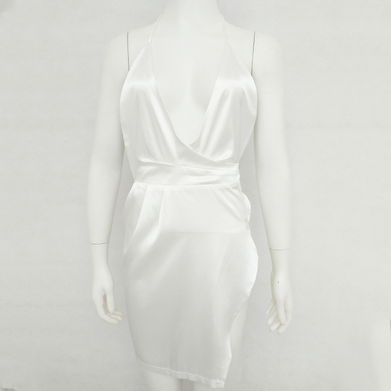 HTB1QZBLXBoHL1JjSZFwq6z6vpXaW - Women Sexy Backless Split Dress JKP086