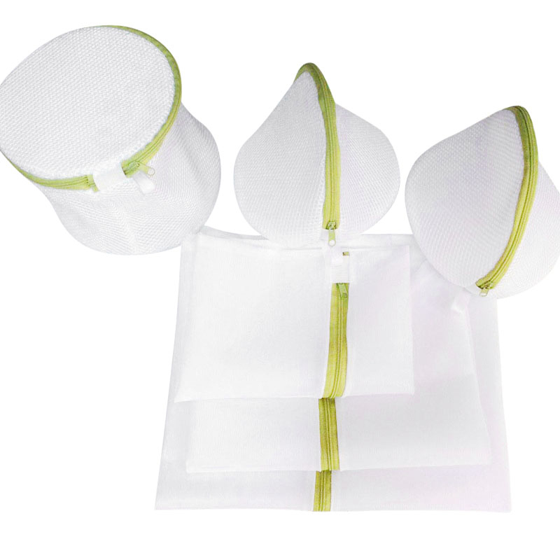 Green Six-piece Underwear Bra Wash Bag Thickening Fine Mesh Laundry Bag Machine Wash Special Lingerie Protecting