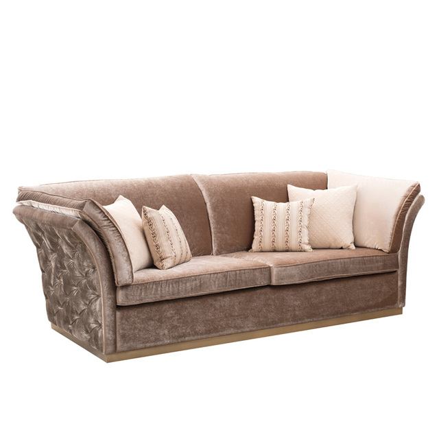 Latest Modern Design Living Room Fabric Chesterfield Sofa Furniture