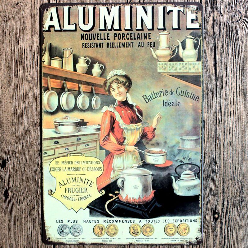 Оловянные таблички, металлическая настенная тарелка для паба, кухни, ресторана, домашнего декора, винтажный Железный постер Cuadros A5257