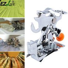 Máquina de coser para el hogar Ruffler prensatelas de mango bajo plisado prensatelas accesorios de la máquina de coser DJ0477
