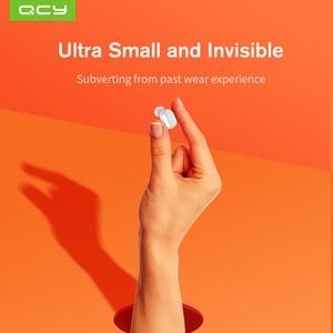 Image 2 - 2018 QCY MINI2 Bluetooth אוזניות עם מיקרופון אלחוטי אוזניות מוסיקה עסקים Earbud רעש מבטל עבור Iphone אנדרואיד