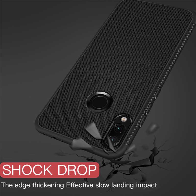 Telefoon Gevallen Voor Xiaomi Redmi Note 7 6 5 Pro 6A 4X Ultra Slim Silicone Soft TPU Cover voor Redmi opmerking 5 6 Shockproof Fundas Shell