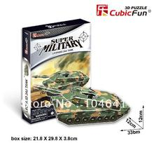 LEOPARD 2A5 TANK CubicFun 3D educational puzzle Paper & EPS Model Papercraft Home Adornment for christmas gift