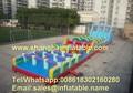 Надувные препятствием малыш крытая площадка оборудование гигантские надувные игры