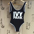 Beyonce IVY PARK Bodysuit sexy sportswear hot swimwear Swimsuit one-piece Fitness condole belt Suit bathing Jumpsuits