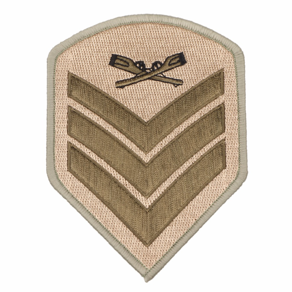 US MARINES SERGEANT MILITARY EMBROIDERED PATCH