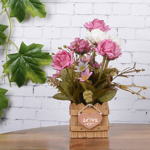 Искусственные цветы для ресторана купить подарок бабушке на юбилей своими руками квиллинг цветы