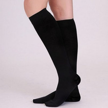 1Pair Stockings Women Men Antifatigue Compression Stockings Pressure Knee Socks Supports Toe Thigh Leg Varicose Vein Stocking