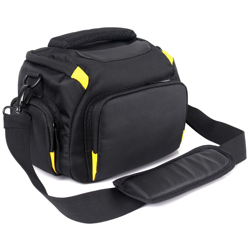 Waterproof DSLR Camera Bag Case For Nikon D5300 D5500 D3400 D3300 D3100 D750 D7200 D7100 D7500 P900 D810 Nikon Bag Lens Pouch huwang multifunction dslr camera backpack bag case for nikon d7200 d7100 d5300 d3400 d90 sony a7 ii iii canon 750d 200d lens bag