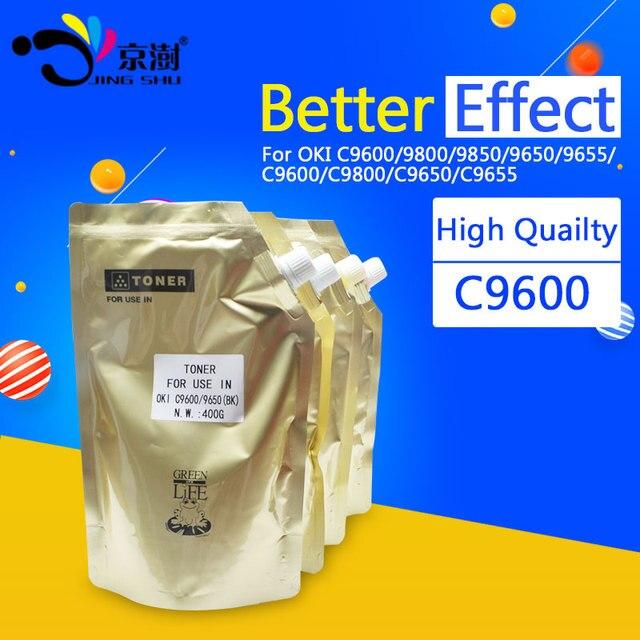 400 г/шт. C9600 изделие тонер совместим для OKI C 9600 9800 9850 9650 9655 C9600 C9800 C9650 C9655 принтера