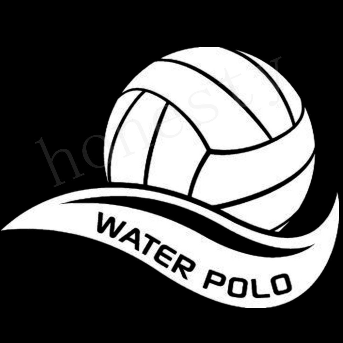 Water polo ball team sports water swim h2o car decals stickers sticker gift in car stickers from automobiles motorcycles on aliexpress com alibaba