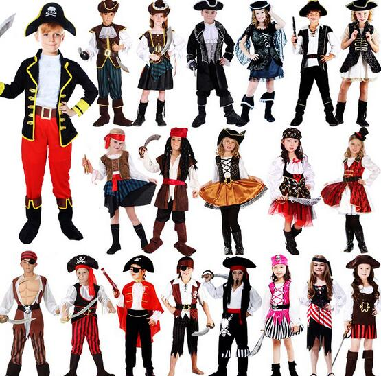 d8610294a halloween pirate costumes for girls shirt deluxe cute child boy girl  carnival children pirates of the caribbean costume kids