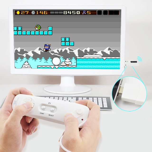 Data Frog Wireless Game Console with 620 Classic Games 3