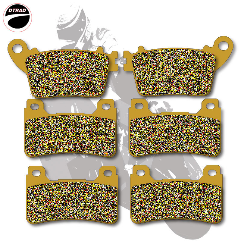 Motorcycle Brake Pads Front+Rear For HONDA CBR 600 RR / RRA 07-13 CBR 600 R / RA9  09-13 CBR 1000 RR 06-13 CBR 1000 RA9 09-13 motorcycle front rear brake pads for kawasaki gpx 600 r zx600 1988 1996 gpx 750 r zx750 1987 1989 zr750 1991 1995 zx100 zx10 p04