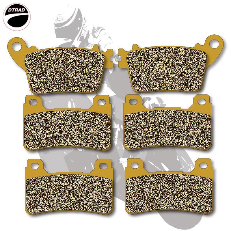 Motorcycle Brake Pads Front+Rear For HONDA CBR 600 RR / RRA 07-13 CBR 600 R / RA9 09-13 CBR 1000 RR 06-13 CBR 1000 RA9 09-13 motorcycle front and rear brake pads for honda cbr 600 rr 2005 2006 cbr 1000 rr 2004 2005 brake disc pad kit