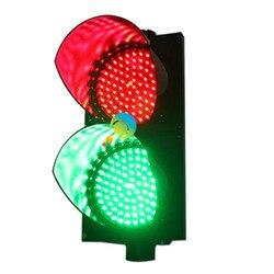 AC85-265V Wateproof design hohe qualität 200mm PC gehäuse rot grün verkehrs licht für verkauf