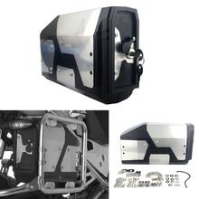 Для BMW R1200GS ADV GSA R1250GS LC Adventure 2004- Сплав ABS Box Toolbox 4,2 литров ящик для инструментов левый боковой кронштейн 2013