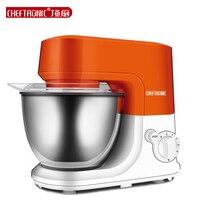 220V 4 2L Automatic Electric Kitchen Stand Mixer Dough Mixer Eggs Blender Milkshake Mixer Stirring Orange