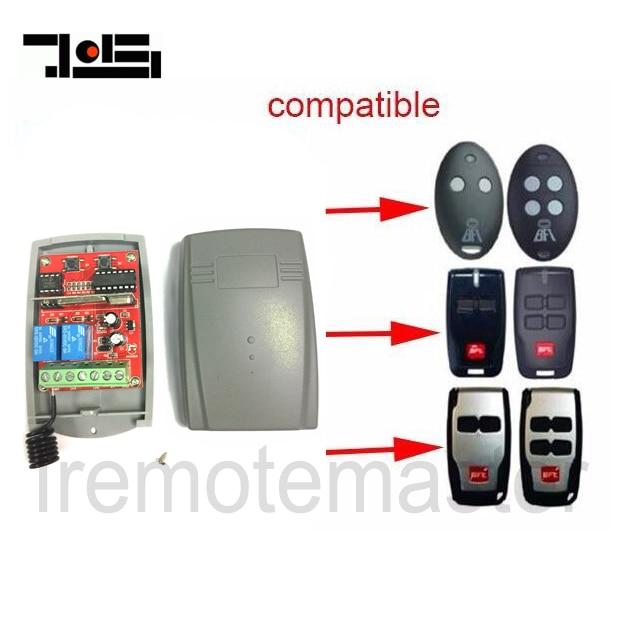 Universal receiver for BFT remote 433mhz DC 12-24V receiver