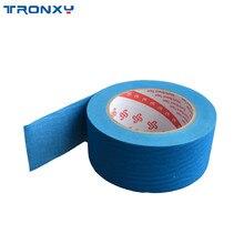 Tronxy 3D принтер плёнка для плиты подогрева синяя маскирующая Лента печатная часть тепловые аксессуары широкая 50 мм длина 50 м
