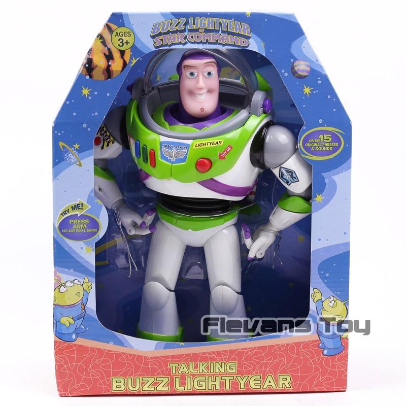 Aliexpress.com : Buy Toy Story Talking Buzz Lightyear Star