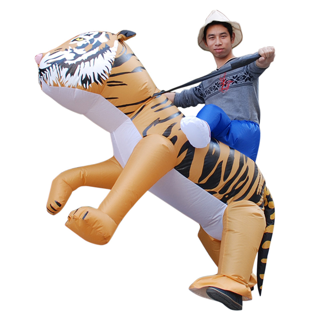 Inflatable Tiger Costume Halloween Costume for Women Purim Carnival Inflatable Tiger Costume Adult Fancy Dress Cosplay  sc 1 st  AliExpress.com & Inflatable Tiger Costume Halloween Costume for Women Purim Carnival ...