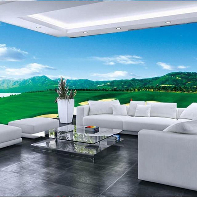 Custom Photo Silk 3d Wallpaper For Walls 3 D For Office Club Guest