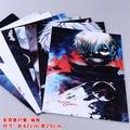 8 pcs/set Tokyo Ghoul figure poster Kaneki Ken / Kirishima Touka anime posters for wall 42x29/57x42cm free shipping