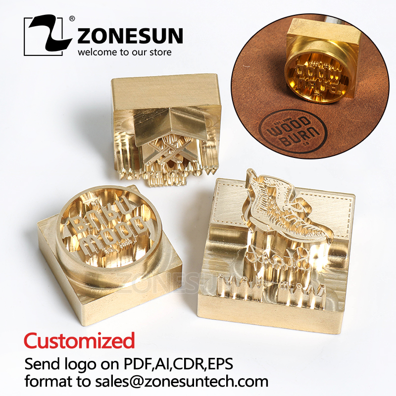 Diy Leather Embossing Stamp: Aliexpress.com : Buy ZONESUN DIY 20MM Thickness Customized